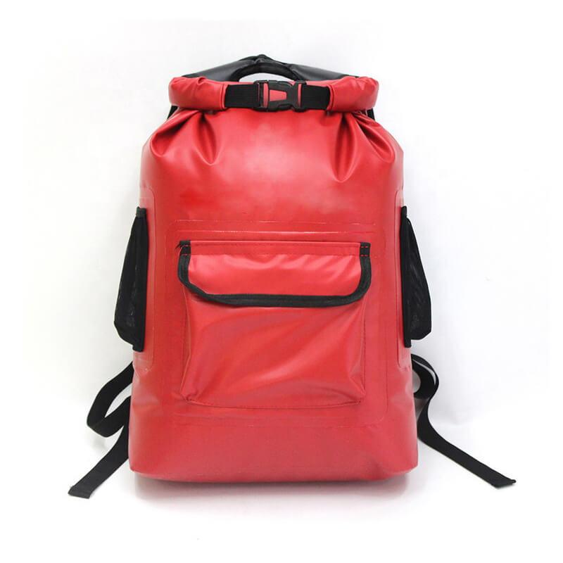 waterproof molle pvc backpack