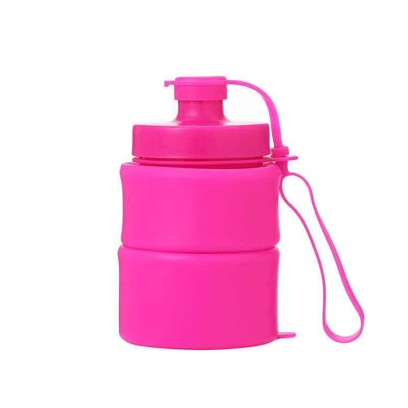 silicone roll up water bottle 1