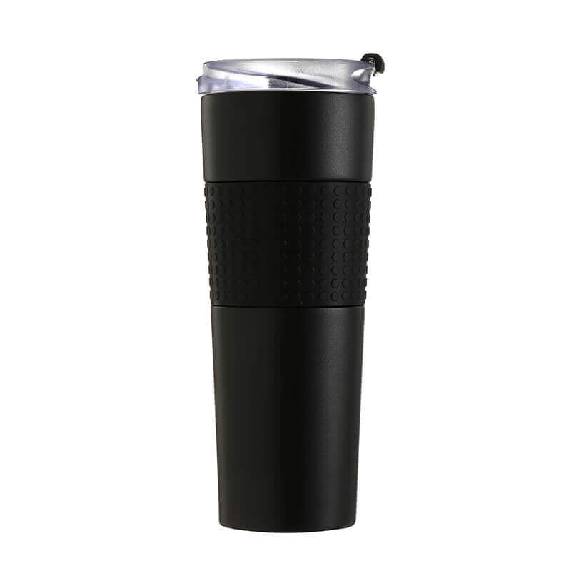 double walled stainless steel coffee mug
