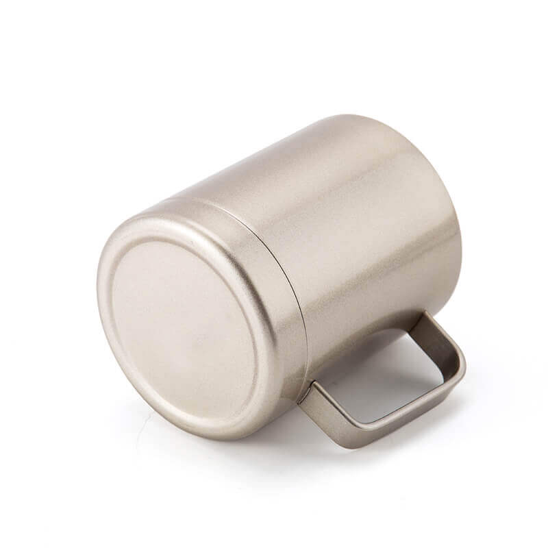 small metal cups