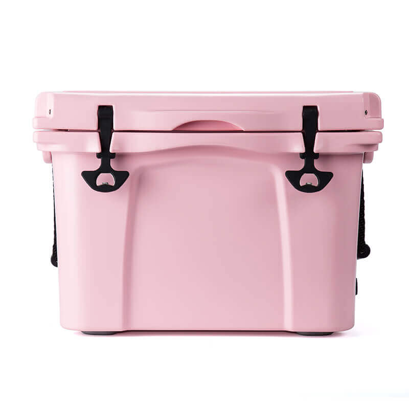 pink hard cooler