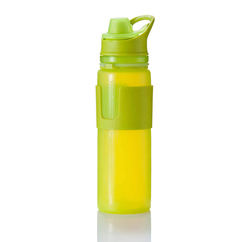 silicone roll up water bottle