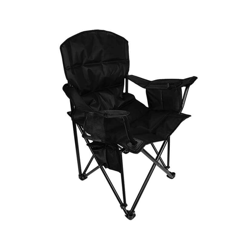 Folding Camping Chairs with 4-Can Cooler