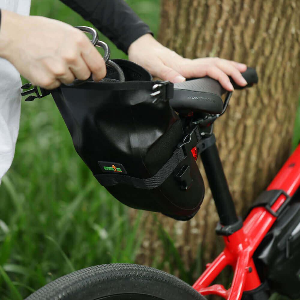 bicycle saddle bags waterproof