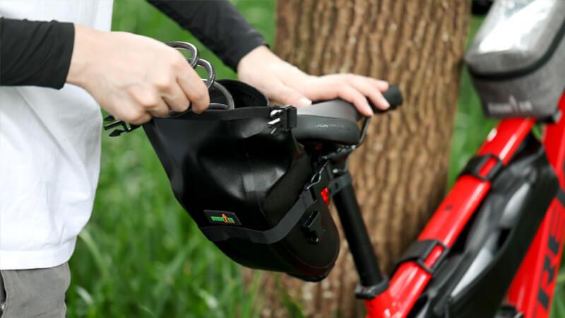 bicycle saddle bags waterproof 6