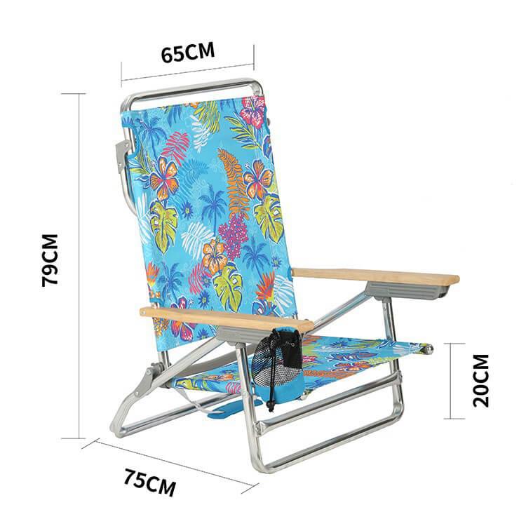 Beach Lounge Chair 1