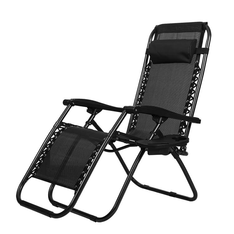 Strong Steel Deck Camping Chair 123 3