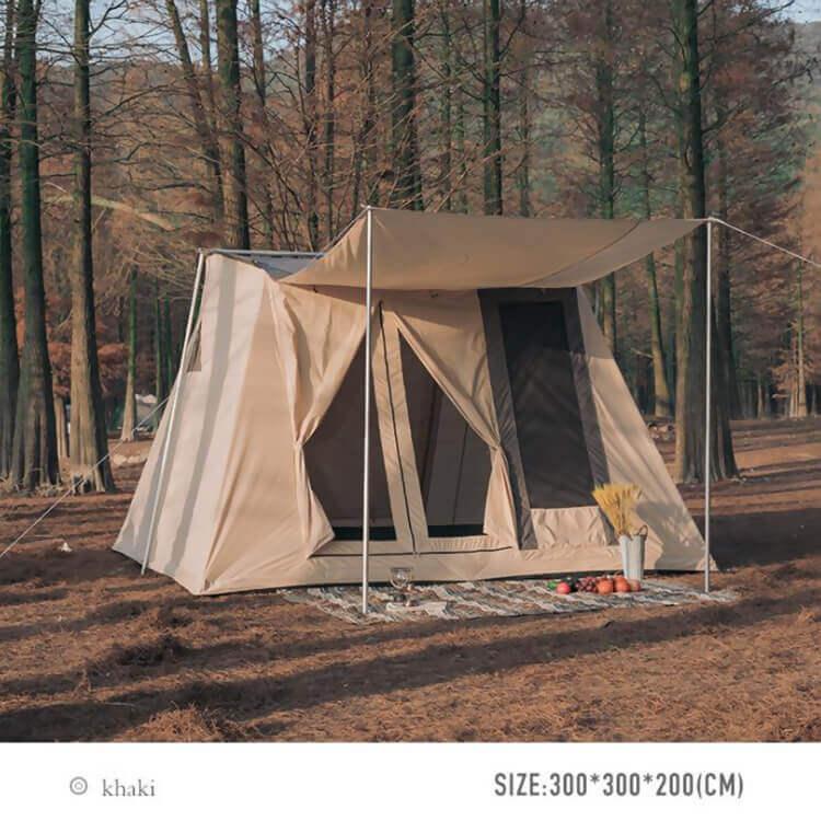 Luxury Canvas Tent 3