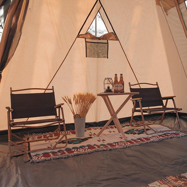 Luxury Canvas Tent 5