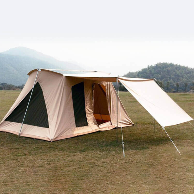 luxury camping tent 2