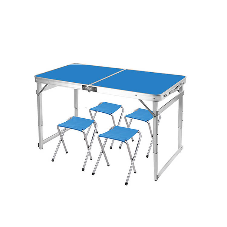 Camping Table with 4 Stools