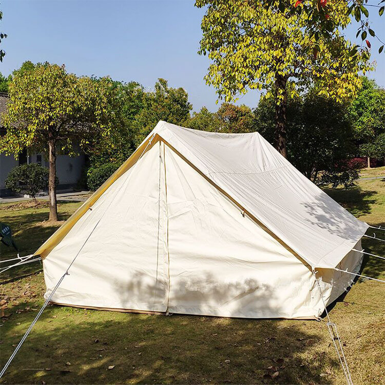 Outdoor Camping 3 4 Person Canvas Wall Tent 2