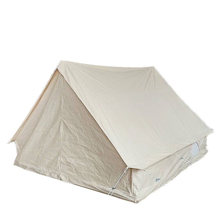 Outdoor Camping 3 4 Person Canvas Wall Tent 3