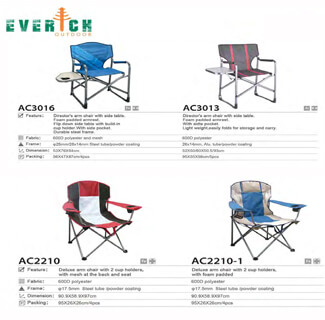 Camping Chair Catalog