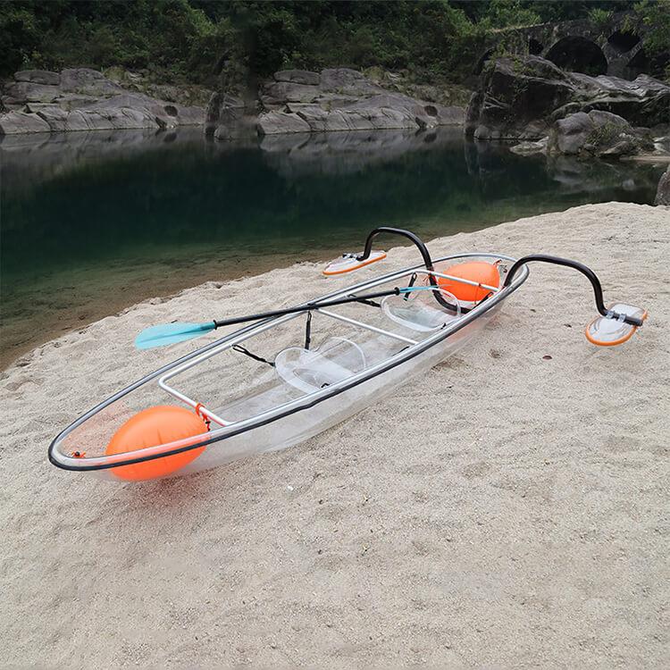 transparent kayak 4