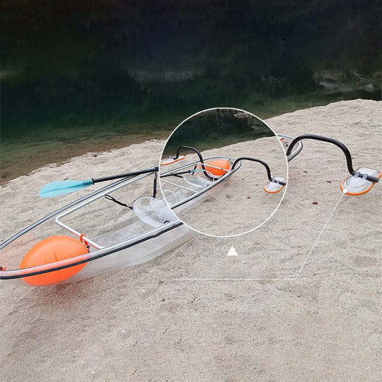 transparent kayak 5